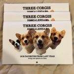 Three Corgis Calendar
