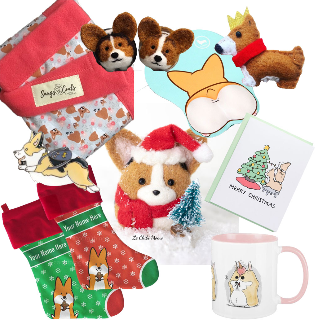 Corgi-themed gifts